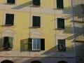 Bogliasco - Piazza XXVI aprile - Facciate dipinte
