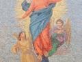 Genova Nervi - Chiesa S. Maria Assunta - Restauro mosaico facciata esterna