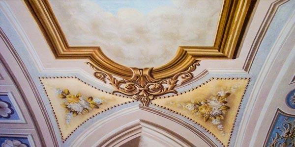 Cappelletta della Costa, Torriglia - Raffaella Stracca Corfield Design Concept - decorazioni e restauri